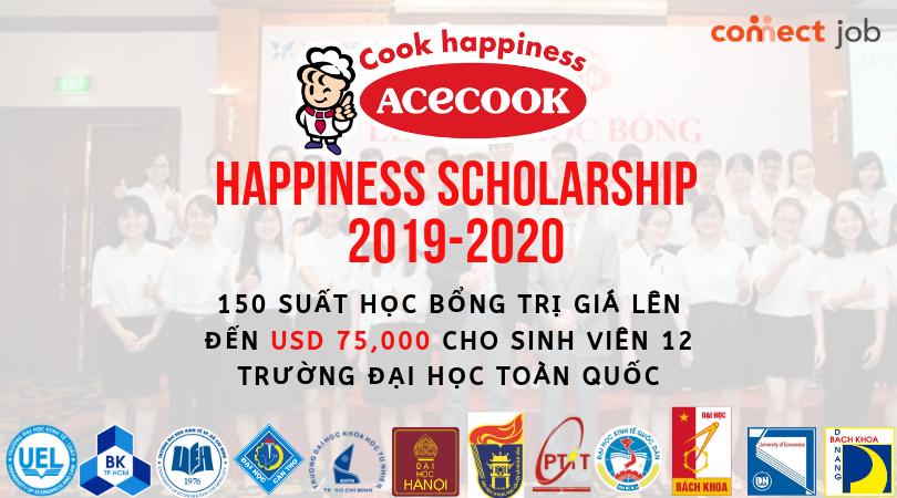 HƯỚNG DẪN ĐĂNG KÝ HỌC BỔNGACECOOK HAPPINESS SCHOLARSHIP 2019 – 2020